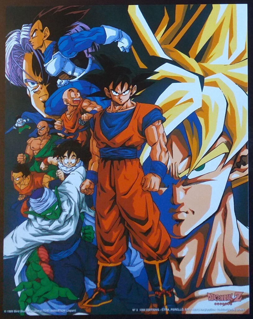 DBZ Posters 1000 Editions Poster 3
