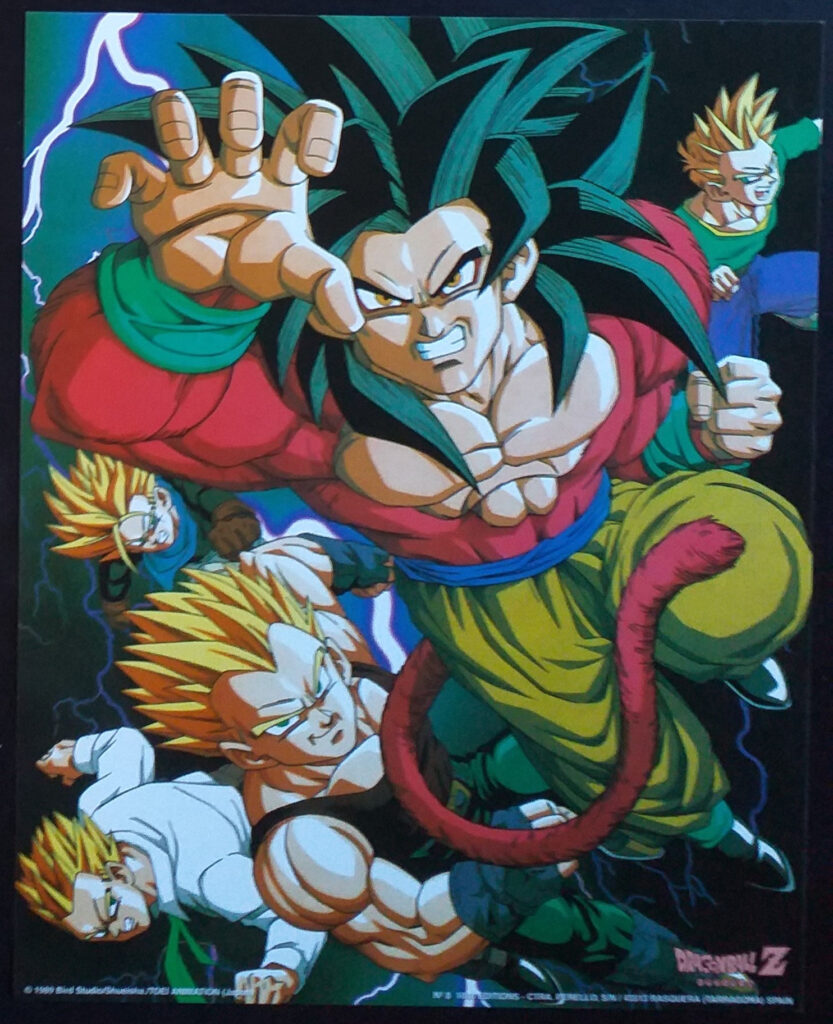 DBZ Posters 1000 Editions Poster 8