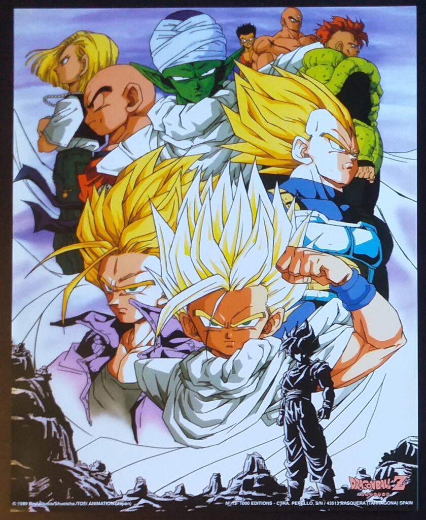 DBZ Posters 1000 Editions Poster 13