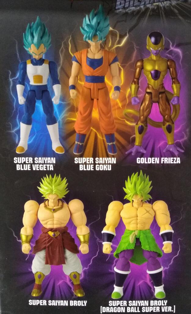 Dragonball Super Limit Breaker Series by Bandai Wave 1