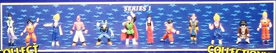 Dragonball Z Mini Figures by Irwin Toy Series 1