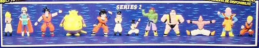 Dragonball Z Mini Figures by Irwin Toy Series 2