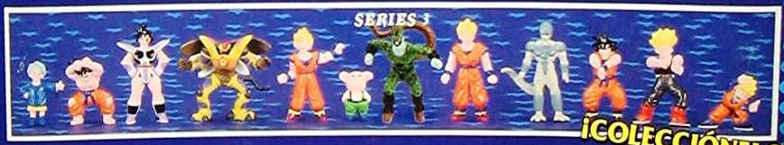 Dragonball Z Mini Figures by Irwin Toy Series 3