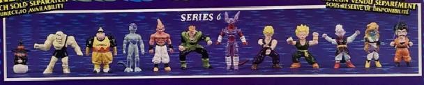 Dragonball Z Mini Figures by Irwin Toy Series 6