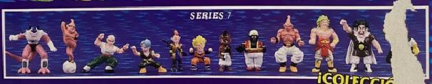 Dragonball Z Mini Figures by Irwin Toy Series 7