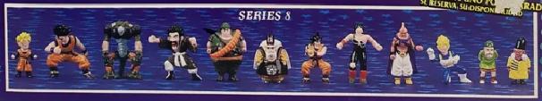 Dragonball Z Mini Figures by Irwin Toy Series 8
