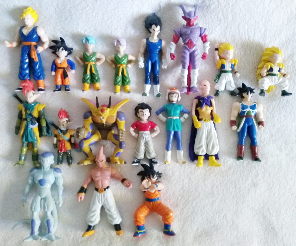 Dragonball Z Super Guerriers Articule by AB Groupe