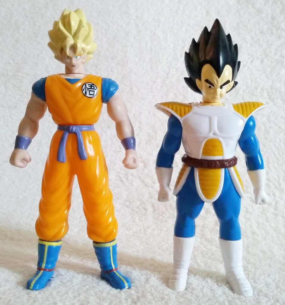 Dragonball Z Action Figures by Dorda Toys
