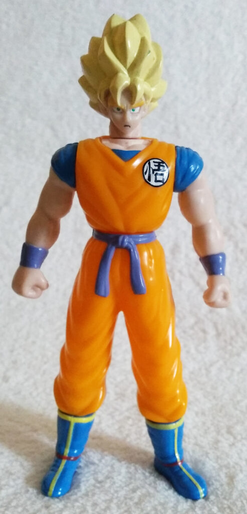 Dragonball Z Action Figures by Dorda Toys Super Saiyan Goku front