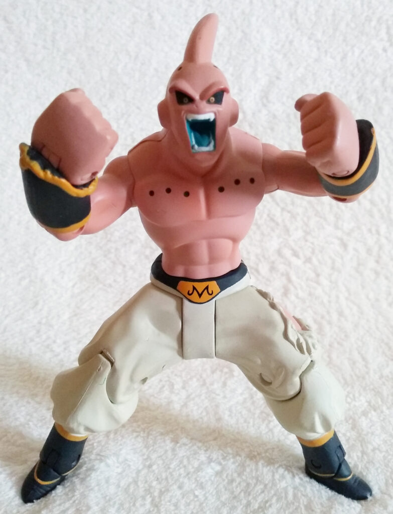 Dragonball Z Power Up! by Jakks Pacific Buu front