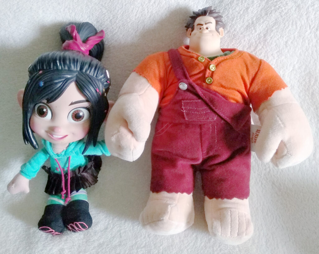 Wreck-it Ralph plush by Thinkway Toys