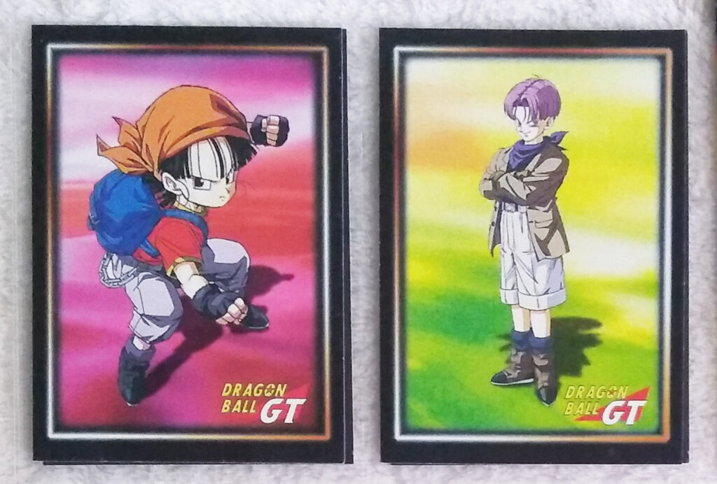Dragonball GT Cards Serie 1 by Panini 9-10