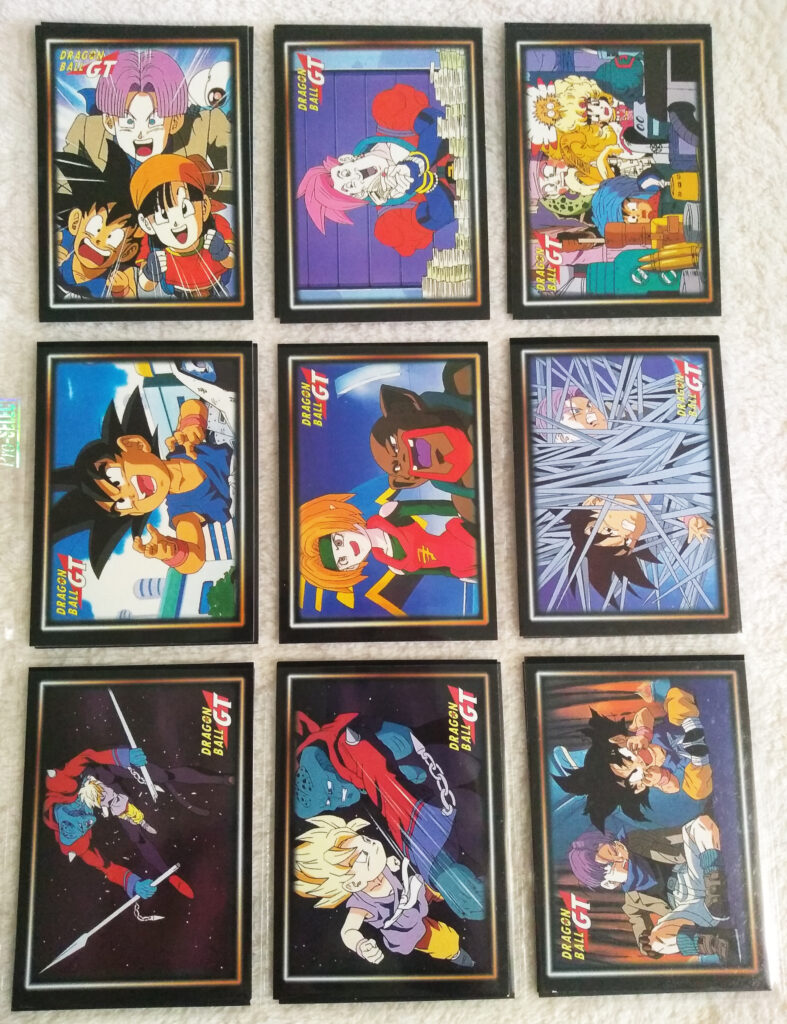 Dragonball GT Cards Serie 1 by Panini 36-44