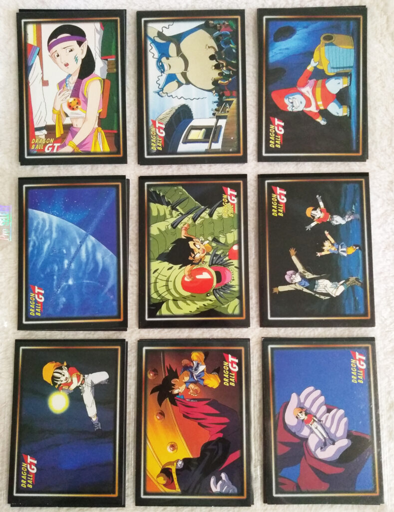 Dragonball GT Cards Serie 1 by Panini 54-62