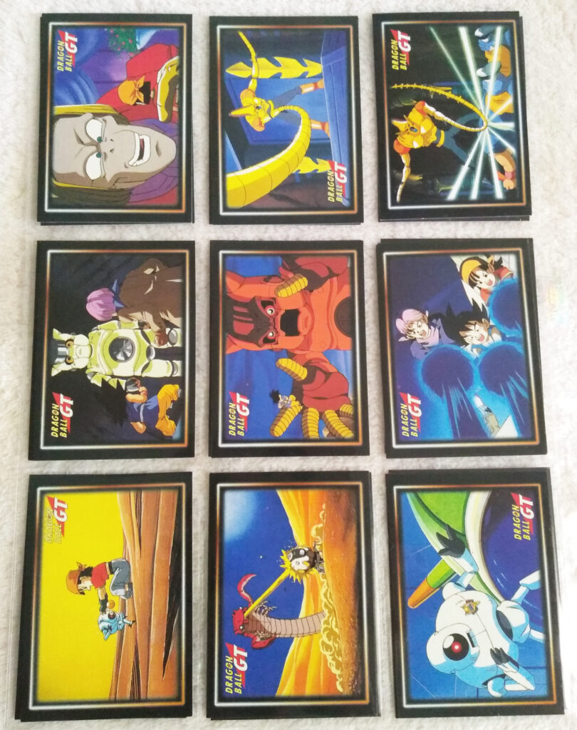 Dragonball GT Cards Serie 1 by Panini 63-71