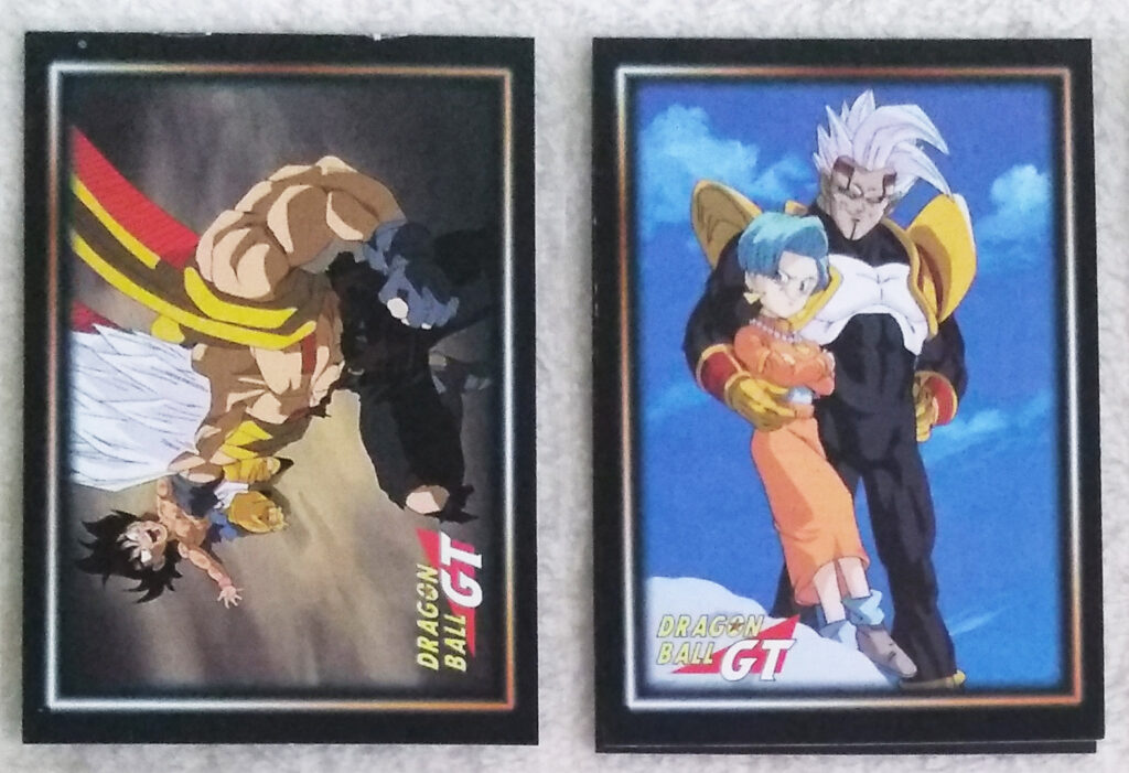 Dragonball GT Cards Serie 1 by Panini 99-100