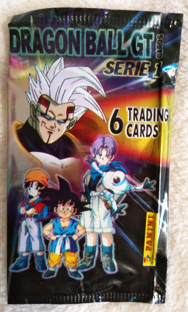 Dragonball GT Cards Serie 1 by Panini