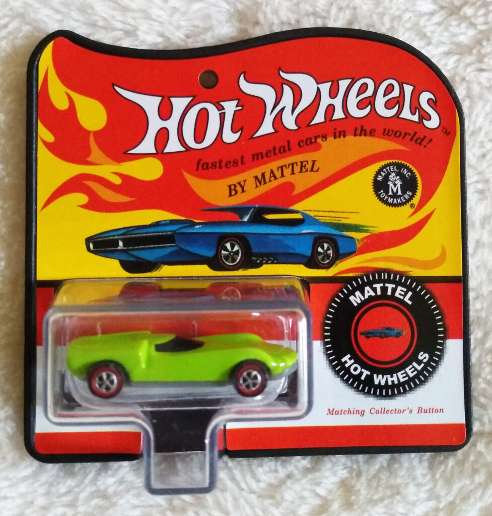 World's Smallest Hot Wheels Series 4 Turbofire 1969 front