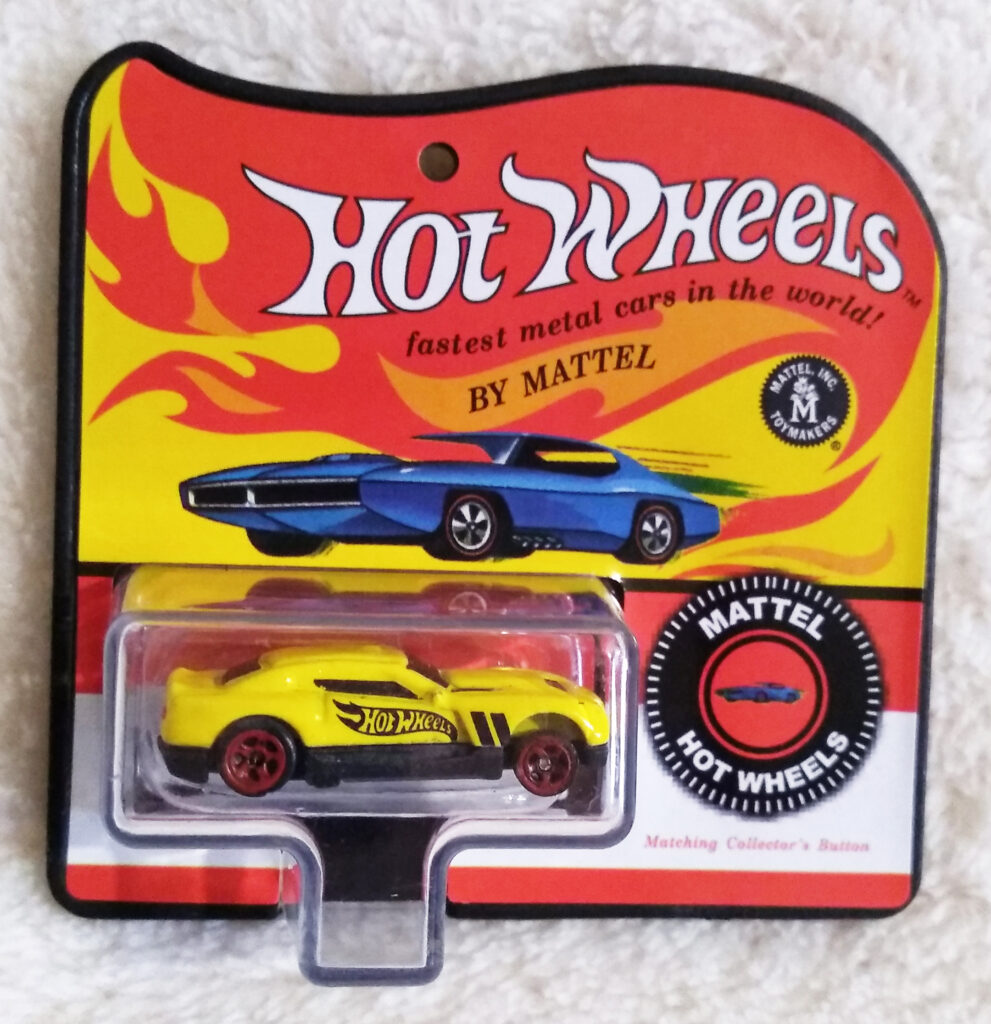 World's Smallest Hot Wheels Series 4 D-Muscle 2015 front